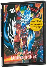 Фото Motorhead: 25 & Alive: Boneshaker (DVD + CD). Покупайте с доставкой по России