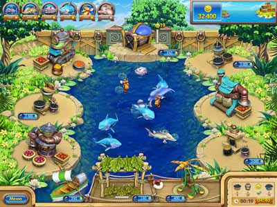 Веселая ферма 3.  Рыбный День Alawar Entertainment