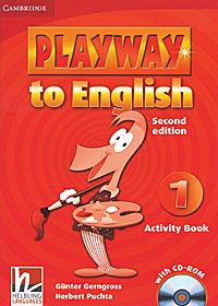 Playway to English 1: Activity Book (+ CD-ROM) first english words activity book 1
