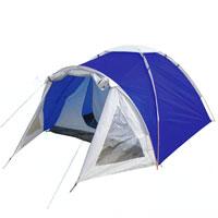 Палатка Columbus Cambridge Pro двухслойная, двухместная, цвет: синий2744Двухслойная палатка Cambridge Pro выполнена из полиэстера. Дуги изготовлены из алюминия. Также имеется просторный светлый тамбур при входе в палатку с обзорными окнами. Палатка предназначена для путешествий.Упакована в чехол с удобной ручкой для переноски. Характеристики: Размер: 90 см + 205 см х 210 см х 130 см. Материал внешнего тента: Poly Taffeta 185T, RipSport. Материал внутренней палатки: полиэстер 17ОТ. Материал пола: полиэстер Oxford 5000 PU. Материл дуги: алюминий 7,9 мм. Количество мест: 3-4. Водостойкость: 3000 мм. Вес палатки: 3 кг.Артикул:2744. Производитель: Финляндия.