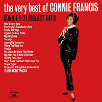 Конни Фрэнсис Connie Francis. The Very Best Of Connie Francis конни гранма the lonely hearts bar