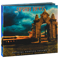 Uriah Heep Uriah Heep. Official Bootleg. Volume II: Live In Budapest Hungary 2010 (2 CD) гирлянда из искусственной хвои christmas time цвет белый 120 см