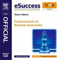CIMA eSuccess CD Fundamentals of Business Economics, business fundamentals
