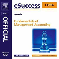 CIMA eSuccess CD Fundamentals of Management Accounting, mark l gillenson fundamentals of database management systems