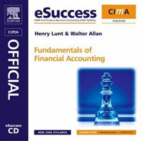 CIMA eSuccess CD Fundamentals of Financial Accounting, principles of financial accounting