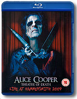 Alice Cooper: Theatre Of Death - Live At Hammersmith 2009 (Blu Ray) ceramic hair curler electric comb hairbrush led curling hair straightener brush straightening iron curlers styling tools