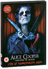 Alice Cooper: Theatre Of Death - Live At Hammersmith 2009 (DVD + CD) элис купер alice cooper theatre of death live at hammersmith 2009 cd dvd