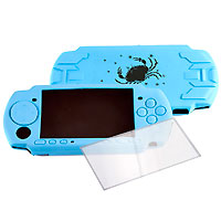 Защитный набор для консоли Sony PSP аксессуар для портативной консоли sony pch zpc1e портативное