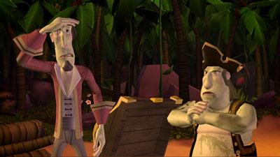 Tales of Monkey Island: Глава 1.  Отплытие
