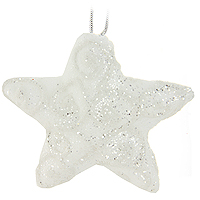 Набор подвесных украшений Звезды, цвет: белый, 4 шт0197-1100Набор подвесных пластиковых украшений украсит новогоднюю елку и создаст теплую и уютную атмосферу праздника. Украшения упакованы в коробку, перевязанную белой лентой. Новогодние украшения всегда несут в себе волшебство и красоту. Почувствуйте волшебные минуты ожидания праздника, создайте новогоднее настроение вашим дорогим и близким! Характеристики:Материал:пластик. Размер украшения: 11,5 см х 10,5 см х 3 см.Комплектация:4 шт. Размер упаковки: 12 см х 33,5 см х 4,5 см. Изготовитель: Китай. Артикул: 0197-1100.
