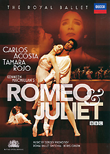 Clement Crisp  Today, when Prokofiev's Romeo and Juliet h so popular in the theatre, it is curious to recall how comparatively little known were the ballet and its music in the 1950s. The first Russian staging was made by Leonid Lavrovsky at the Kirov Theatre, Leningrad, in 1940, five years after Prokofiev had completed the score. It was in 1956, when the Moscow Bolshoj Ballet arrived in London for Soviet ballet's ground-breaking first visit to the West that die emotional force of this production was seen, and profoundly affected our audiences. On 3 October in that year, the curtains of the Royal Opera House. Govern Garden, rose to reveal the motionless triptych of Romeo, Friar Laurence and Juliet (who was Galina Ulanova, Moscow's divinity). Even now, the sensation caused by that evening lingers on We were bowled over by the power of Muscovite dancing, by the radiance of Ulanova's presence, by the Torre of Prokofiev's score. Ironically, in the previous pear Frederick Ashton, The Royal Ballet's master choreographer, had staged his own response to this music in Copenhagen Tailored to die modest forces of the Royal Danish Bailer, this production had a clarity very different from the epic sweep of the Bolshoj version. Within two years of the Bolshoi's appearance, John Cranko, who had made his name as a young choreographer with The Royal Ballet mounted a version of Romeo for La Scala Milan, and this he revised and developed in 1962 when he became director of the Stuttgart Ballet.  Act 1 Act 2 Act 3
