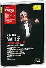 Mahler, Leonard Bernstein: Symphonies Nos. 1, 2 & 3 (2 DVD) mahler leonard bernstein symponies nos 9 & 10 das lied von der erde 2 dvd
