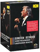 Beethoven, Leonard Bernstein: Wiener Philharmoniker - Concert Gebouw Orchestra (7 DVD) leonard юбка leonard toundra marine