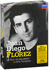Juan Diego Florez: Donizetti - La Fille Du Regiment / Don Pasquale (3 DVD) luxury curved spout washbasin faucet widespread waterfall dual handle bathroom mixer taps chrome finished