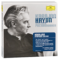 Berliner Philharmoniker,Герберт Караян Herbert Von Karajan. Haydn. Paris & London Symphonies (7 CD) 87 vic matiē ботинки