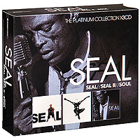 Seal,Сил Seal. Seal / Seal II / Soul (3 CD) chinese name stamp seal for painting calligrpahy art stamper seal painting supplies