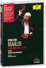 Mahler, Leonard Bernstein: Symphonies Nos. 4, 5 & 6 (2 DVD) mahler leonard bernstein symponies nos 9 & 10 das lied von der erde 2 dvd