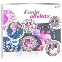The Fania All Stars Fania All Stars. Cali Concert (2 CD) музыка cd dvd dsd 1cd
