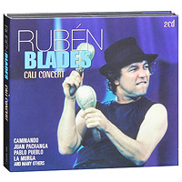 Рубен Блэйдс Ruben Blades. Cali Concert (2 CD) цена