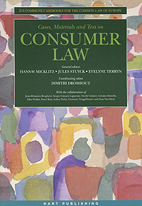 Cases, Materials and Text on Consumer Law cases materials and text on consumer law