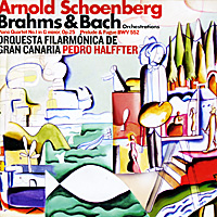 Арнольд Шоенберг,Педро Халффтер,Schoenberg Orchestral Transcriptions,Orquesta Filarmonica De Gran Canaria Arnold Schoenberg, Pedro Halffter. Brahms. Piano Quartet No.1 In G Minor, Op.25 / Bach. Prelude And Fugue In E Flat Major, BWV 552 saucony кроссовки saucony jazz lowpro blue white 10