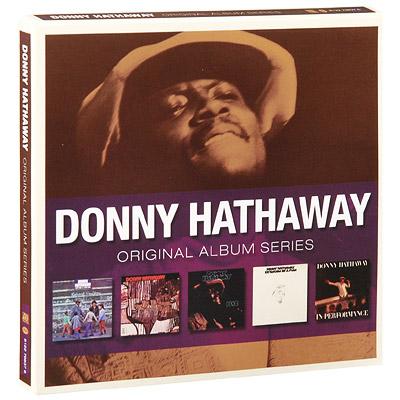 Donny Hathaway.  Original Album Series (5 CD) Rhino Entertainment Company,Торговая Фирма