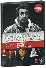 Placido Domingo: My Greatest Roles - Volume 2: Verdi (4 DVD) verdi un ballo in maschera 2 dvd