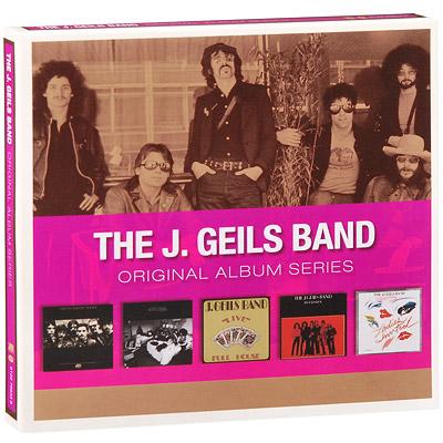 The J.  Geils Band.  Original Album Series (5 CD) Rhino Entertainment Company,Торговая Фирма