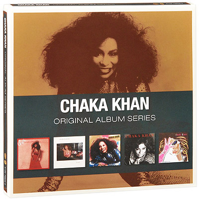 Chaka Khan.  Original Album Series (5 CD) Rhino Entertainment Company,Торговая Фирма