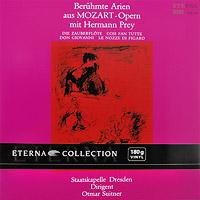Hermann Prey, Otmar Suitner. Mozart. Beruhmte Arien Aus Mozart-Opern Mit Hermann Prey (LP)