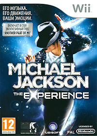 Michael Jackson: The Experience (Wii) michael jacksons this is it cd