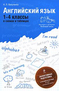 Английский язык. 1-4 классы в схемах и таблицах