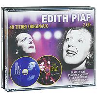 Эдит Пиаф Edith Piaf. 48 Titres Originaux (2 CD) эдит пиаф edith piaf fais moi valser 2 cd