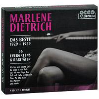 Марлен Дитрих Marlene Dietrich. Das Beste 1929-1959 (4 CD) das beste von hansi