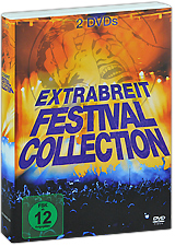 Extrabreit Festival Collection (2 DVD) коляска gb коляска прогулочная beli air 4 capri blue