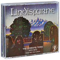 Lindisfarne Lindisfarne. The Charisma Years 1970-1973 (4 CD) музыка cd dvd dsd 1cd