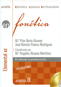 Fonetica: Elemental A2 (+ 2 CD) silla de director plegable de madera con bolsas para maquillaje pelicula studio hw46460