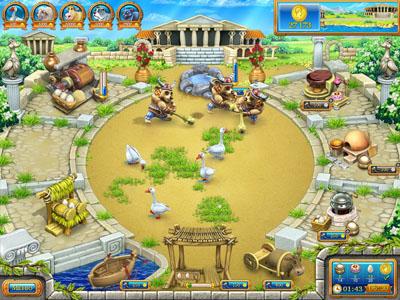 Веселая ферма.  Древний Рим Alawar Entertainment