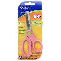 Ножницы  Westcott  с антибактериальным покрытием, цвет: розовый -  Канцелярские ножи и ножницы