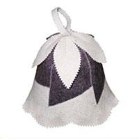 Шапка для бани и сауны Колокольчик шапки для бани метиз шапка для бани с вышивкой в косметичке адмирал бани