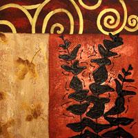 Картина-репродукция без рамки Листья, 60 х 60 см 2115521155Картина-репродукция без рамки Листья дополнит интерьер любого помещения, а также может стать изысканным подарком для ваших друзей и близких. Благодаря оригинальному дизайну картина может использоваться для оформления любых интерьеров. Картина выполнена на холсте масленым рисунком по шаблону. Такая картина - вдохновляющее декоративное решение, привносящее в интерьер нотки творчества и изысканности! Картина надежно упакована в пленку с противоударными уголками. Характеристики:Материал: холст, дерево. Размер: 60 см х 60 см. Артикул: 21155. Изготовитель: Китай.