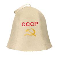 Шапка для бани и сауны СССР
