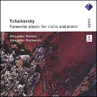 Alexander Markov, Alexander Markovitch. Tchaikovsky. Favourite Pieces For Violin And Piano