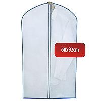 Чехол для одежды Hausmann, 60 х 92 см 2B-360922B-36092Удобный чехол для одежды на молнии из прочного дышащего и водонепроницаемого материала обеспечит надежное хранение Вашей одежды, защитит от повреждений во время хранения и транспортировки. Особая фактура ткани не пропускает пыль и при этом позволяет воздуху свободно проникать внутрь, обеспечивая естественную вентиляцию.Характеристики: Материал: полиэтилен, нетканное полотно. Размер: 60 см х 92 см. Артикул: 2B-36092.Произведено в Китае по заказу Hausmann.Продукция компании Hausmann достаточно хорошо известна на российском рынке. Используя современные технологии в качестве неисчерпаемого источника для вдохновения, она не перестает радовать покупателей товарами отменного качества. Разнообразие товаров приятно удивляет. Вы действительно сможете найти то, что вам необходимо! Вся продукция тщательно проверяется на предмет надежности и безопасности, и вы можете быть уверенными в том, что купленная однажды вещь долго прослужит вам верой и правдой.