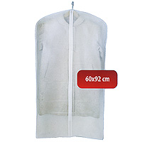 """Удобный чехол для одежды на молнии обеспечит надежное хранение Вашей одежды, защитит от повреждений во время хранения и транспортировки, а также от пыли и грязи. Легко чистится при помощи влажной тряпки. Характеристики: Материал: полиэтилвинилацетат. Размер: 60 см х 92 см. Артикул: 2C-36092.Произведено в Китае по заказу """"Hausmann"""".Продукция компании """"Hausmann"""" достаточно хорошо известна на российском рынке. Используя современные технологии в качестве неисчерпаемого источника для вдохновения, она не перестает радовать покупателей товарами отменного качества. Разнообразие товаров приятно удивляет. Вы действительно сможете найти то, что вам необходимо! Вся продукция тщательно проверяется на предмет надежности и безопасности, и вы можете быть уверенными в том, что купленная однажды вещь долго прослужит вам верой и правдой."""
