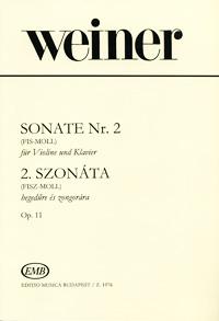 Leo Weiner Weiner: Sonate Nr.2 (Fis-Moll) fur Violine und Klavier leo tolstoi krieg und frieden