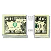 Конверт для денег Эврика 1 миллион долларов, 10 шт91339Конверт для денег, украшенный изображением пачки банкнот номиналом 1 миллион долларов, станет необычным и приятным дополнением к денежному подарку.Размер в сложенном виде: 8,3 см х 16,7 см. Комплектация: 10 конвертов.