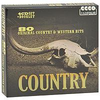 Хэнк Уильямс-старший,Хэнк Томпсон,Хэнк Сноу,Карл Смит,Джонни Кэш,Дон Гибсон,The Everly Brothers Country. 80 Original Country & Western Hits (4 CD) johnny horton take me like i am gonna shake this shack tonight