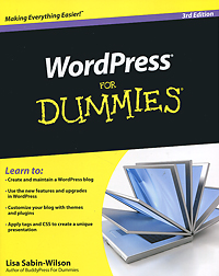 WordPress For Dummies книги эксмо wordpress для начинающих