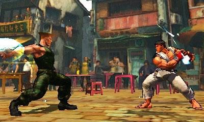 Super Street Fighter IV:  3D Edition (3DS)